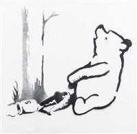 pooh by banksy