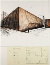 wrapped museum of contemporary art – chicago (project) by christo and jeanne-claude