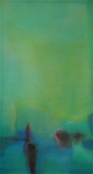 untitled (green) by willem de looper