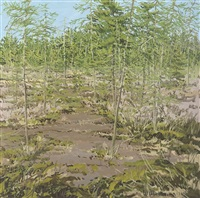 study for little marsh spring by neil welliver