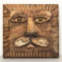 lion head by bernard langlais