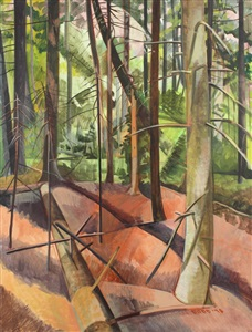 neil welliver oil studies and selected prints selected works by gallery artists by lois dodd