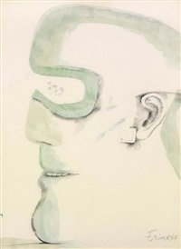 goggle head by elisabeth frink