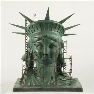 face lift statue of liberty by alain godon