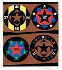 the american dream v by robert indiana