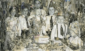 first birthday, album by vik muniz