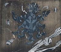 black tortoise by yoshitaka amano