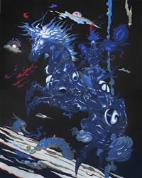 black knight by yoshitaka amano