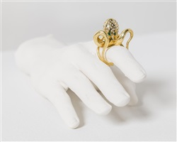 octopus ring by rob wynne