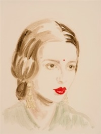 amrita sher-gil by annie kevans