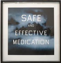 safe & effective medication by ed ruscha