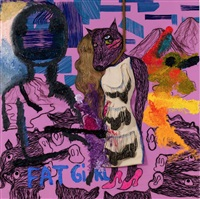 untitled (détail) by bjarne melgaard with bob recine and andre walker
