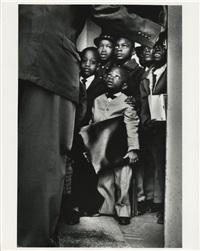 black muslim school children, chicago, illinois by gordon parks