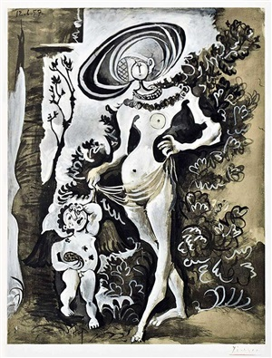 venus by pablo picasso