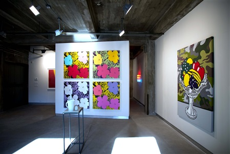 tbt throwback thursday installation view