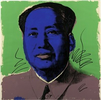 mao (green) (fs ii.90) by andy warhol