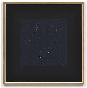 star chart blue i by darren almond