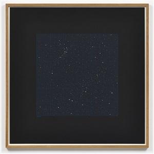 star chart (blue) i by darren almond