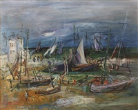 port de pêche by jean dufy