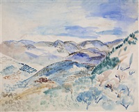 paysage by jean dufy