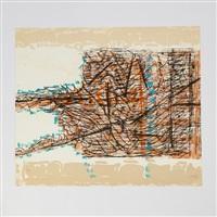 le sablier 2 by jean paul riopelle