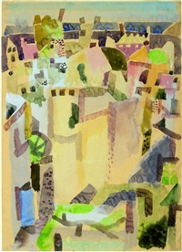 blick über ischia by eduard bargheer