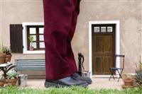 sans titre (pied de jean-jacques dehors) by jean-françois fourtou