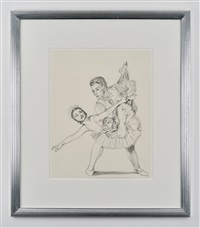 a ballet pair by rachel feinstein