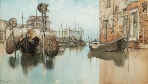 venetian morning by francis hopkinson smith