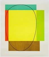 five color frame by robert mangold