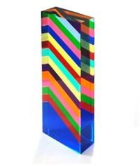 15 stripes sculpture by vasa velizar mihich