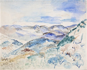paysage by jean dufy