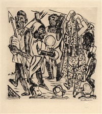 niggertanz by max beckmann