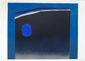 blau – schwarz by rupprecht geiger