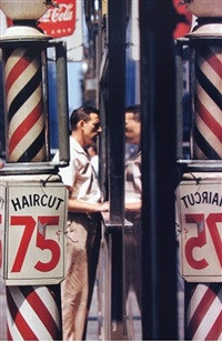 haircut by saul leiter