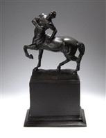 wounded centaur by franz von stuck