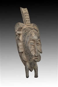 senufo kpelie mask by unknown