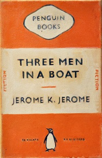 three men in a boat by duncan hannah