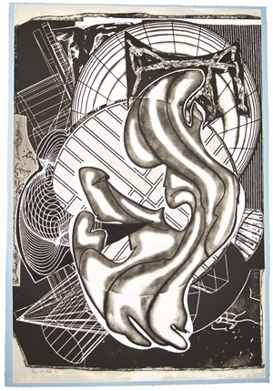 stubb and flask kill a right whale by frank stella