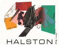 untitled (halston advertising campaign: men's wear) by andy warhol