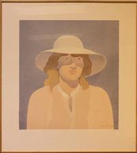 girl in hat by mark adams
