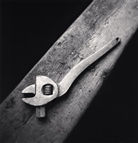 lace factories, study 2, calais, france, 1987 by michael kenna