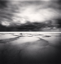 early morning storm, calais, pas-de-calais, france, 1998 by michael kenna