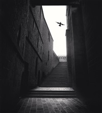 invitation to prayer, mont st. michel, france, 1994 by michael kenna