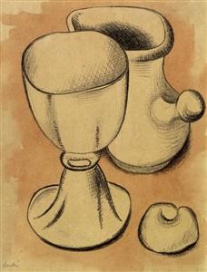 auswahl - gemälde, skulptur, zeichnung by auguste herbin