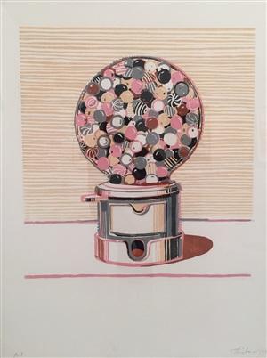 gumball machine by wayne thiebaud