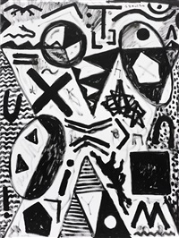 das große unbekannte (the great unknown) by a.r. penck