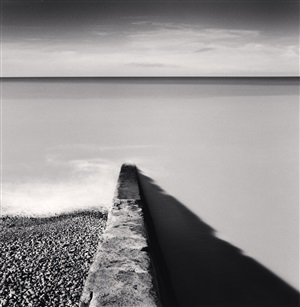 rising tide, ault, picardy, france, 2009 by michael kenna