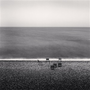 soiree, beau rivage, nice, france, 1996 by michael kenna