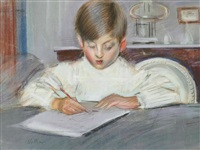 the drawing lesson by paul césar helleu